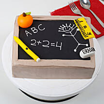Black Board Special Fathers Day Cake: Kids Birthday Cakes for Girls & boys