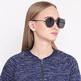 Black Cat Eye Unisex Sunglasses: Sunglasses for Her