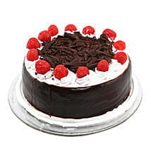 Black Forest with Cherry: Send Anniversary Cakes to Noida