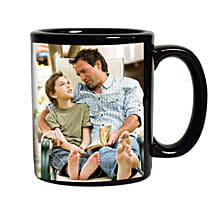 Black Personalized Coffee Mug: Mugs for Fathers Day