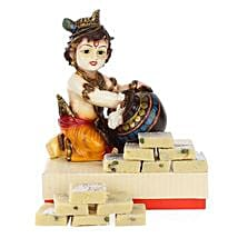 Blissful Bal Krishna: Send Handicraft Gifts to Noida