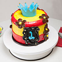 Blue Crown Cake: Send Mango Cakes to Patna
