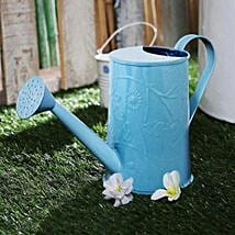 Blue Embossed Watercane: Gardening Tools