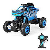 Blue Rock Crawler: Kids Remote Control Toys
