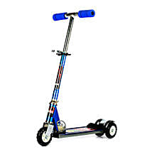Blue Ultra Durable Big Wheel Scooter: Toy Vehicles