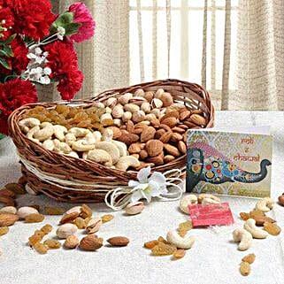 Boat Of Dry Fruits: Send Bhai Dooj Gift Baskets