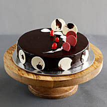 Boss Day Designer Truffle Cake: Cake delivery in Virajpet