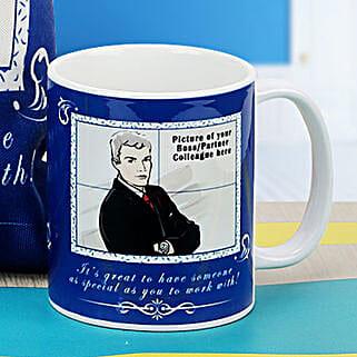 Boss The Personalized Mug: Personalised Mugs for Him