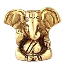 Brass Ganesha Statue: Spiritual Gifts Delivery to Delhi