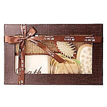 Brown Body Spa Kit: Mothers Day Spa Hampers