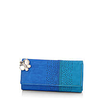 Butterflies Beautiful Blue Wallet: Buy Wallets