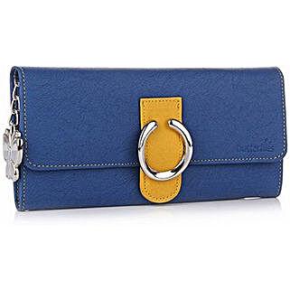 Butterflies Blue Wallet: Wallets