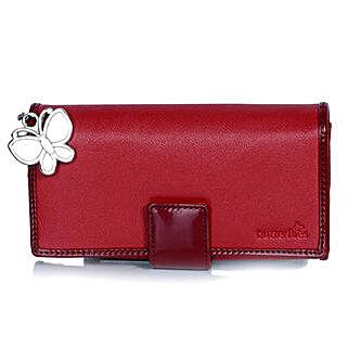 Butterflies Classic Red Wallet: Buy Wallets