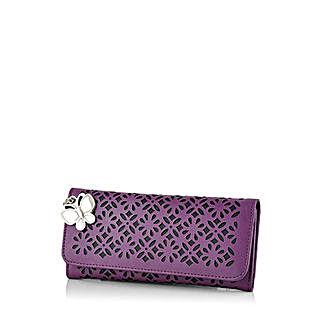 Butterflies Ravishing Purple Wallet: Wallets
