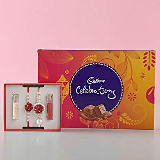 Cadbury Celebrations Box Bhaiya Bhabhi Rakhi: Send Rakhi for Bhaiya Bhabhi