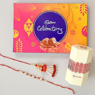 Cadbury Celebrations & Lumba Rakhi Combo: