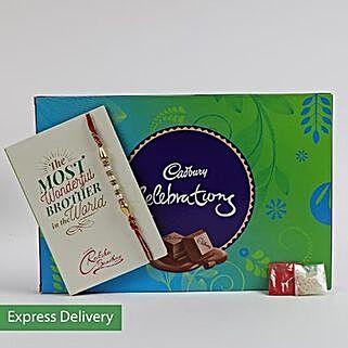 Cadbury Celebrations With Rakhi Combo: