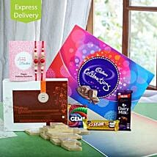 Cadbury N Rakhi Express: Send Set of 2 Rakhi