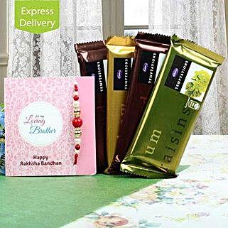 Cadbury Temptations N Rakhi: Rakhi Gifts to Patna