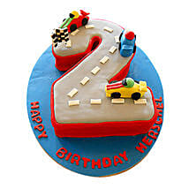 Car Race Birthday Cake: Designer Cakes to Lucknow