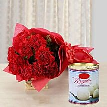 Carnation Glee: Send Flowers & Sweets to Pune