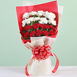 Carnations Love Bouquet: Flower Bouquets
