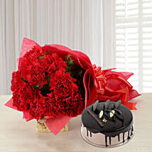 Carnations of Love: Valentines Day Flowers & Cakes