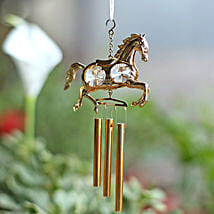Carousal Horse Wind Chime: Home Decor