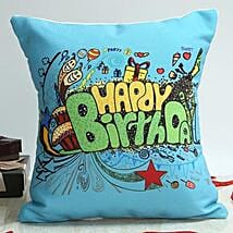 Celebrate With Blue: Birthday Cushions