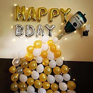 Champagne Decor: Gifts for Boyfriend