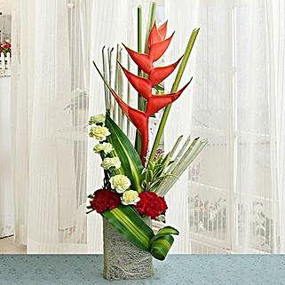 Charming Arrangement: Anniversary Flowers Gurgaon