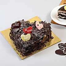Choco Blast Love Cake: Romantic Heart Shaped Cakes