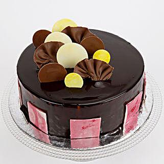 Choco Coin Truffle Cake: Send Chocolate Cakes to Ghaziabad
