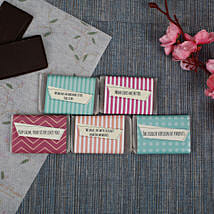 Chocolate Bars For Sister- 5 Pieces: Personalised Chocolates Bengaluru