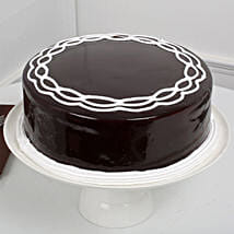 Chocolate Cake: Send New Year Cakes to Hyderabad