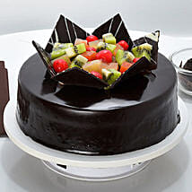 Chocolate Fruit Gateau: Send Gifts to Purulia