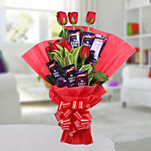 Chocolate Rose Bouquet: Chocolate Bouquet to Delhi