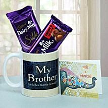 Chocolate Treat For Brother: Send Bhai Dooj Gifts to Indore