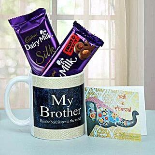 Chocolate Treat For Brother: Send Bhai Dooj Gifts to Udaipur