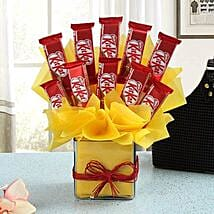 Chocolate Treat: Chocolate Bouquets for anniversary