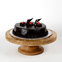 Chocolate Truffle Cream Cake: Send Valentine Gifts to Haldwani