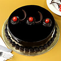 Chocolate Truffle Delicious Cake: Send Bhai Dooj Gifts to Pune