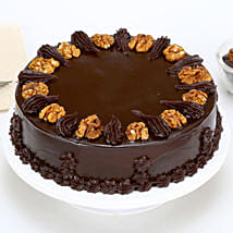 Chocolate Walnut Cake: Eggless Cakes for Mother's Day