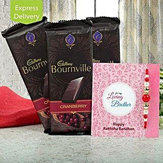 Chocolates N Rakhi: Flowers & Chocolates for Rakhi