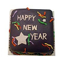 Chocolaty New Year Cake: New Year Gifts for Family