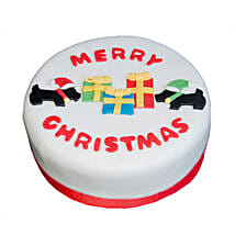 Christmas Celebrations Cake: Send Christmas Gifts to Chennai