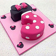 Classic Minnie Cake: Minnie Mouse Birthday Cake