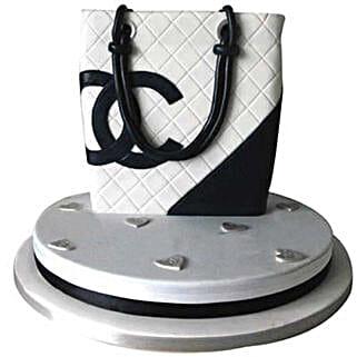 Classy Chanel Bag Cake: