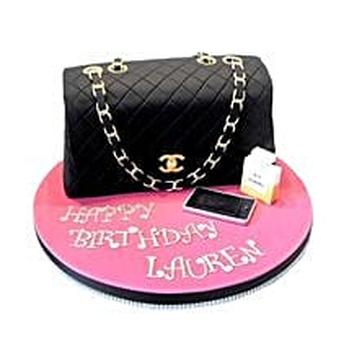 Classy Chanel Cake: Cakes to Goa