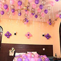 Colorful Balloons Decor: Send Birthday Gifts to Mumbai